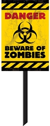 Zombie Value Yard Sign