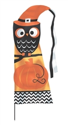 Modern Halloween Feather Flag Yard Stake | Halloween Decorations
