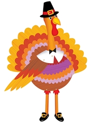 Turkey Jointed Cutout | Party Supplies