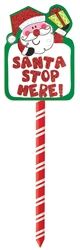 Santa Yard Stake | Party Supplies