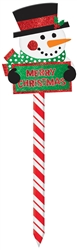 Snowman Value Yard Stake | Party Supplies