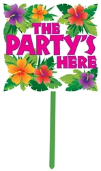 Summer Yard Sign | Luau Party Supplies
