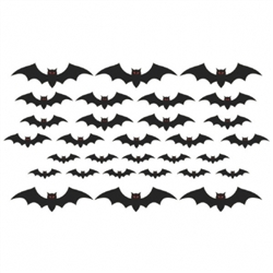 Cemetery Mega Value Pack Bat Cutouts