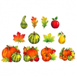Harvest Mix Value Pack Cutouts | Party Supplies
