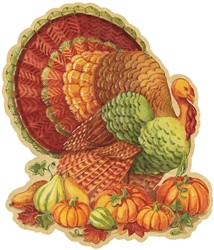 Thanksgiving Cutout, 8"