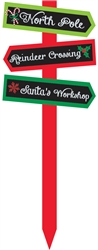 Christmas Arrow Value Yard Stake | Party Supplies