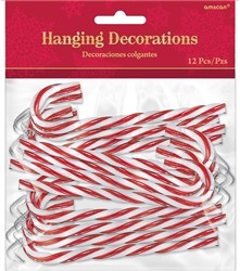 Candy Cane Hanging Decorations | Party Supplies