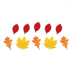 Mini Leaves Value Pack Cutout Assortment | Party Supplies
