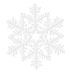White Small Snowflake Decoration | Party Supplies