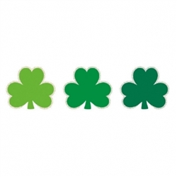 St. Patrick's Day Super Value Pack Mini Cutouts | Party supplies