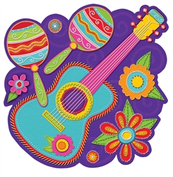 Banjo w/Maracas Cutout | Party Supplies