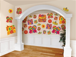 Fiesta Mega Value Pack Cutouts | Party Supplies