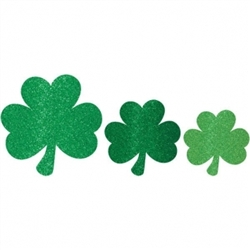 Mini Shamrock Cutout Assortment | St. Patrick's Day supplies