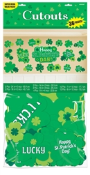 St. Patrick's Day Super MVP Cutouts | St. Patrick's Day Supplies