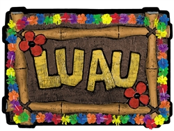 Luau Vac Form Decoration | Luau Party Supplies