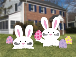 Bunny Yard Signs | Easter Supplies