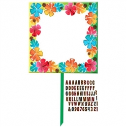 Luau Customizable Yard Sign | Luau Party Supplies