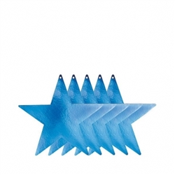 "Blue 9"" Foil Star 