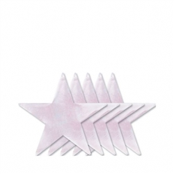 "Iridescent 9"" Foil Star 