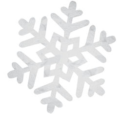 Snowflake Cutout | Party Supplies