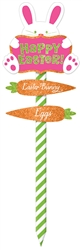 Easter Large Lawn Sign | Party Supplies