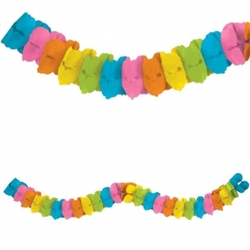 Multi Color Garland | Party Supplies