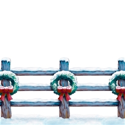 Holiday Fence Border | Party Supplies