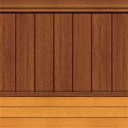 Floor/Wainscoting Backdrop | Party Supplies