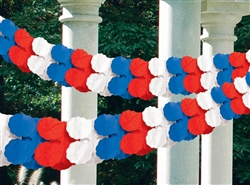 American Summer Paper Garland | Party Supplies