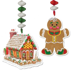 Gingerbread Decorations for Sale
