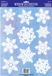Snowflake Window Decoration | Party Supplies