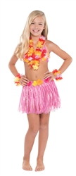 Warm Hula Skirt Kit - Child | Party Supplies