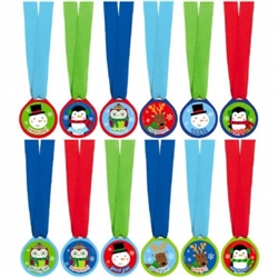 Winter Award Medal Assortment | Party Supplies