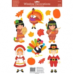 Thanksgiving Window Decorations | Party Supplies