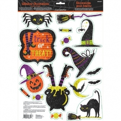 Witch Window Decoration | Halloween Party Supplies
