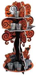 Spooky Tree Shot Glass Holder | Halloween Party Supplies