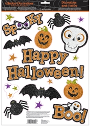 Family Friendly Window Decorations | Halloween Party Supplies