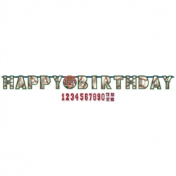 MLB Add-An-Age Letter Banner | Party Supplies