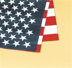 American Flag Printed Bandana | Party Supplies