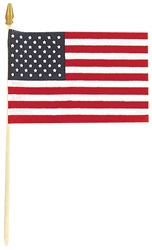 "American Flag - 4"" x 6"" 
