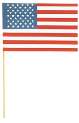 "American Flag - 6"" x 9"" 