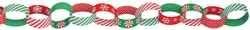 Christmas Chain Link Garland | Party Supplies