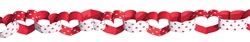 Valentine's 13' Paper Chain Garland | Valentines supplies