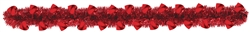 Valentine's Day 9' Tinsel Boa Garland | Valentines supplies