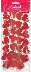 Heart 9' Ring Garland | Valentines supplies
