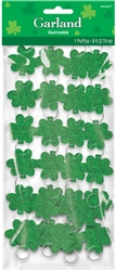 Shamrock Ring Garland | St. Patrick's day decorations