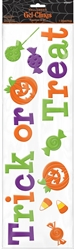 Trick or Treat Long Gel Clings | Party Supplies