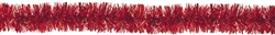 Red Tinsel Boa Garland | Party Supplies