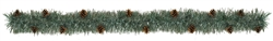 Artificial Pine Boa Garland w/Real Pinecones | Party Supplies
