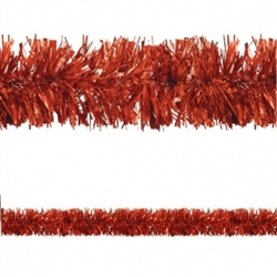 Red Prismatic Tinsel Garland | Party Supplies
